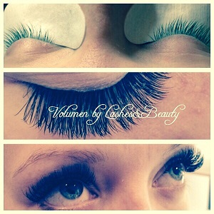 Volumenwimpern Lashes&Beauty